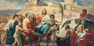 Вход Христа в Иерусалим.