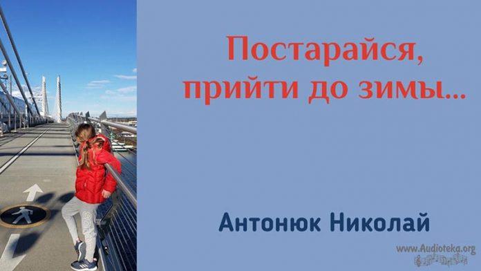 Постарайся, прийти до зимы - Николай Антонюк