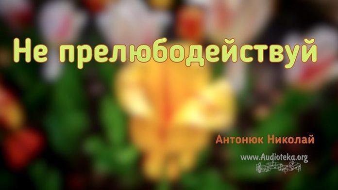 Не прелюбодействуй - Николай Антонюк