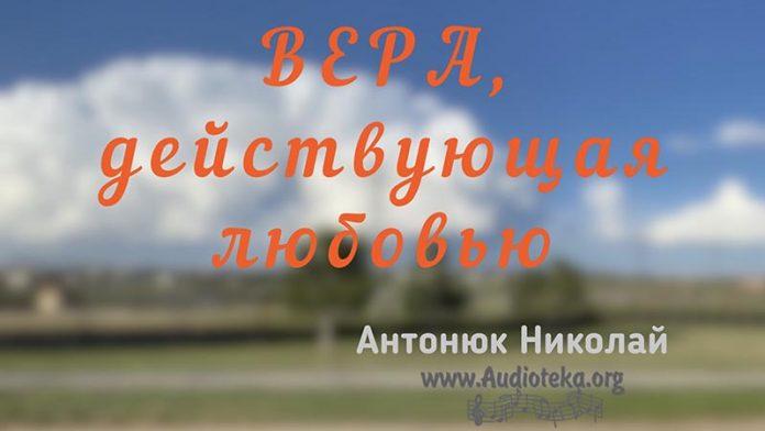 Вера, действующая любовью - Николай Антонюк
