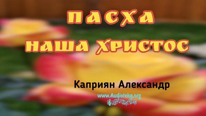 Пасха наша Христос - Каприян Александр