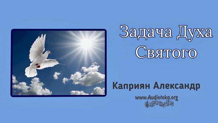 Задача Духа Святого - Каприян Александр