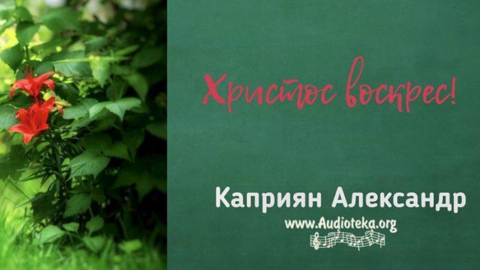 Христос Воскрес - Каприян Александр