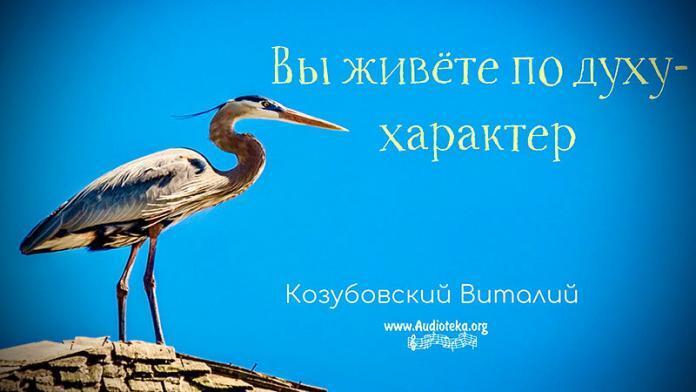 Вы живете по духу - Характер - Виталий Козубовский