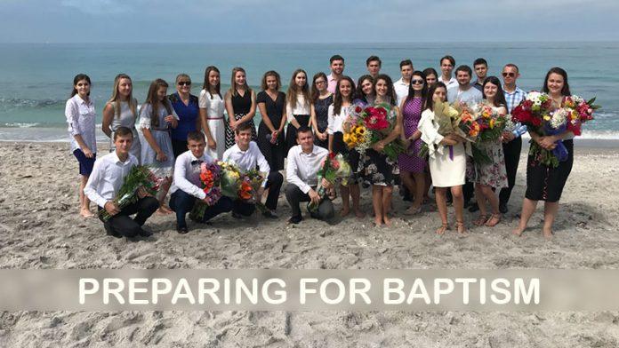 Preparing for Baptism - Vitaliy Boyko